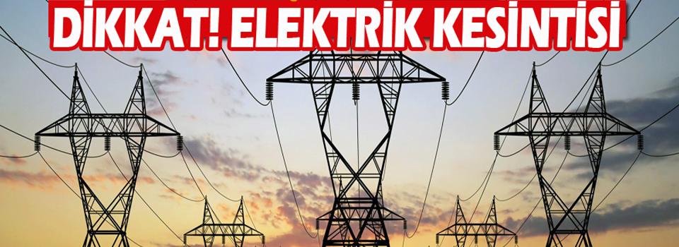 Hakkari ve ilçesinde elektrik kesintisi