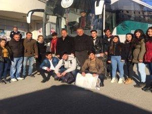 Hakkari folklor ekibi İstanbul'da