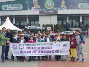 Hakkarili çocukların İstanbul gezisi