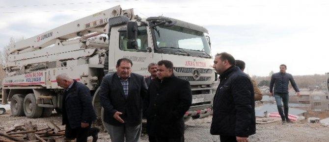 Erciş'teki TOKİ'lerin su sorununa çözüm