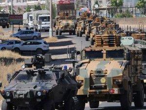 Afrin operasyonuna hazırlık! Zırhlı araç ve birlikler sınırda