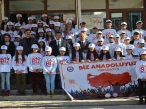 Yüksekovalı öğrenciler İstanbul'a gitti