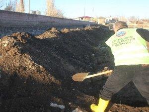 Ağrı'da kış öncesi 250 mezar kazıldı
