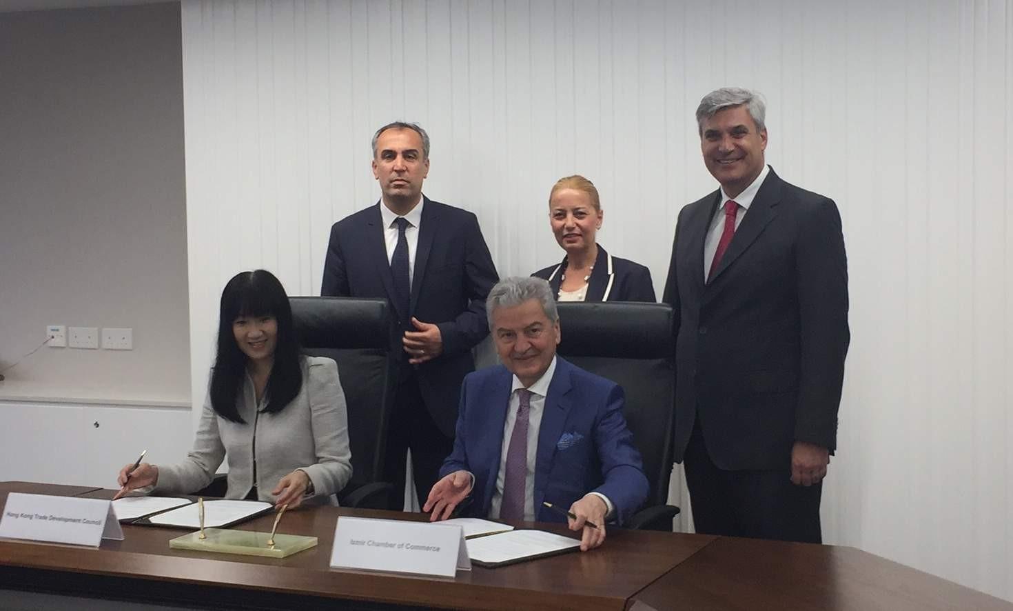 İTO'dan Çin'de 4 işbirliği ve kardeşlik imzası