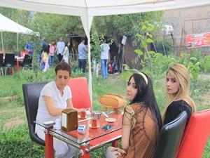 Hakkari'nin ilk kır lokantası ilgi odağı oldu
