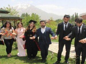 Hakkari Üniversitesinde mezuniyet töreni