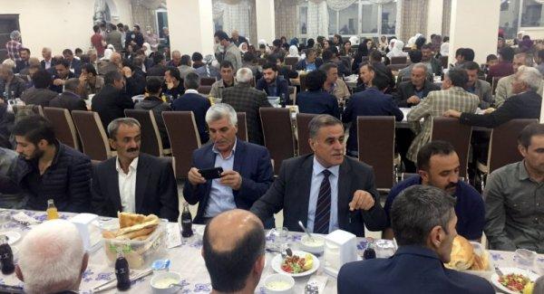 HDP ve DBP Yüksekova İlçe Teşkilatlarından iftar yemeği