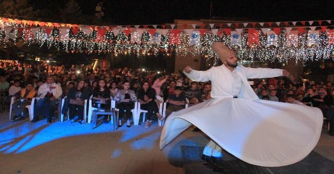 Hakkari'de semazen gösterisi düzenlendi