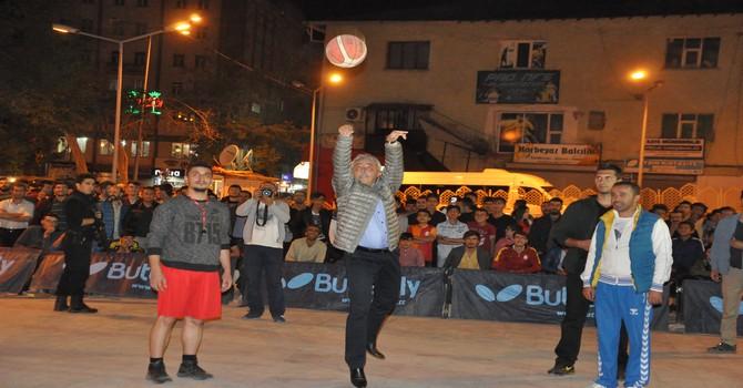 Hakkari'de 3X3 streekbal turnuvası başlıyor