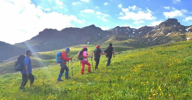 Hakkari Dağcıları Van Erek dağına tırmandı