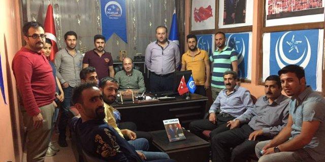 Hakkari'de Ak ocaklar Derneği Şubesi açıldı