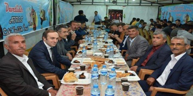 Belediye Başkan Vekili Epcim iftarda vatandaşlarla buluştu