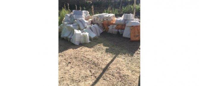 Hakkari'de 195 bin paket kaçak sigara ele geçirildi