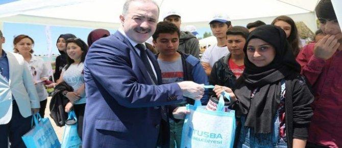 Tuşba Belediyesi'nin ödüllü 'Atık pil toplama' yarışması sonuçlandı