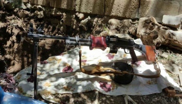 Bağlar mahallesinde bixsi silahı ele geçirildi