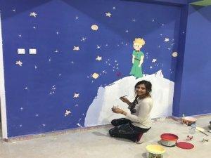 Çaldıran'da 'Renkli sınıflar renkli hayatlar' projesi