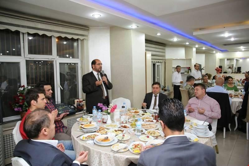 Hakkari il emniyet müdürlüğü iftar programı düzenledi