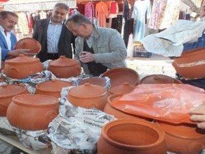 Ramazanda çömlek satışına yoğun ilgi