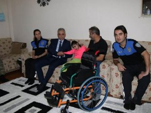 Hakkari'de Engelli çocuklara anlamlı destek