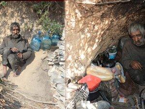 40 yıldır mağarada yaşıyor! 3 dil biliyor