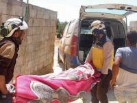 Rusya İdlib'i bombaladı: 3 ölü, 5 yaralı