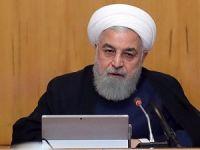 İran Cumhurbaşkanı Ruhani, İdlib Zirvesi öncesi Fırat'ın doğusuna işaret etti