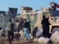 Ayn El Arap'ta zorlu devriye