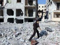 Esad rejiminden Halep'e hava saldırısı: 5 ölü