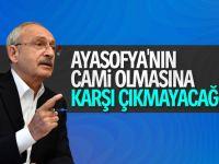 Kılıçdaroğlu Ayasofya'nın statüsünü değerlendirdi