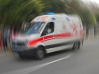 Mülteci taşıyan minibüs kaza yaptı: 1 ölü, 5 yaralı