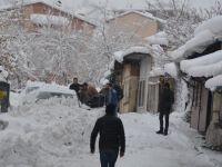 Hakkari'de 213 yerleşim yeri ulaşıma kapandı