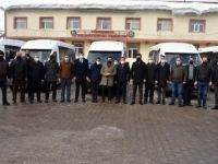 Yüksekova'da 14 şehir içi minibüs hizmete başladı