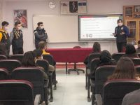 Hakkari polisinden 'Siberay Farkındalık Eğitimi