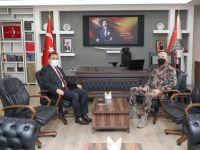 Vali Akbıyık'tan Müdür Pınar'a hayırlı olsun ziyareti