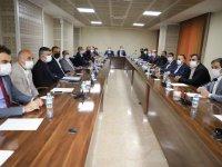 Hakkari'de Eğitime Destek Platformu toplantısı